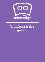 Anthologia lyrica graeca