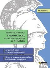 Αναλυτική θεωρία γραμματικής αρχαίων ελληνικών σε πίνακες