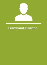 Lallemand Orianne