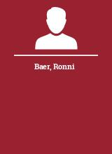 Baer Ronni