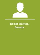 Hoslet-Barrios Susana
