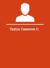 Taylor Cameron C.