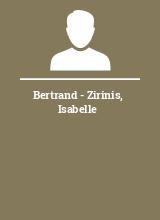 Bertrand - Zirinis Isabelle