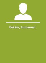 Bekker Immanuel
