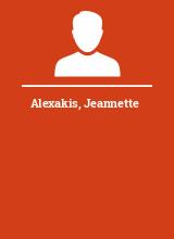 Alexakis Jeannette