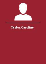 Taylor Caroline