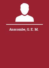 Anscombe G. E. M.