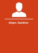Alègre Sandrine