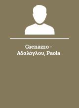Caenazzo - Αδαλόγλου Paola