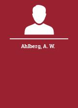 Ahlberg A. W.