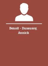 Benoit - Dusausoy Annick