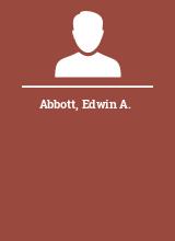 Abbott Edwin A.