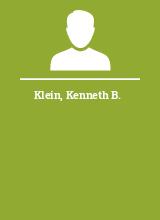 Klein Kenneth B.