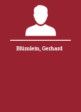 Blümlein Gerhard
