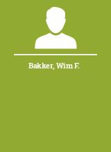 Bakker Wim F.