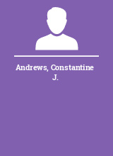 Andrews Constantine J.