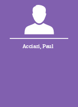 Acciari Paul