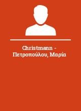 Christmann - Πετροπούλου Μαρία