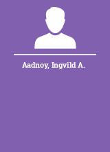 Aadnoy Ingvild A.