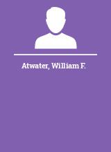 Atwater William F.