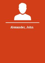 Alexander John
