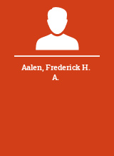 Aalen Frederick H. A.