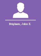 Brigham John E.