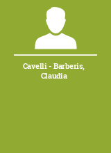 Cavelli - Barberis Claudia