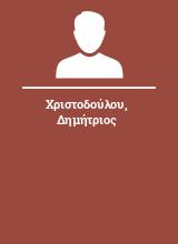 Χριστοδούλου Δημήτριος