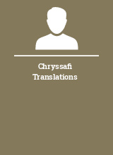 Chryssafi Translations